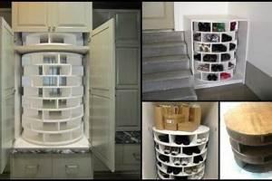 Idée Rangement Chaussures A Faire Soi Meme : comment construire un rangement chaussures rotatif soi ~ Dallasstarsshop.com Idées de Décoration