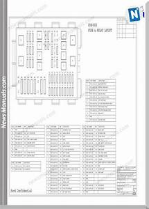 Ford Transit 2001  V184  Physical Wiring Diagram