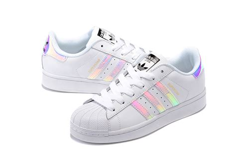 New Style Adidas Superstar Classic White Hologram
