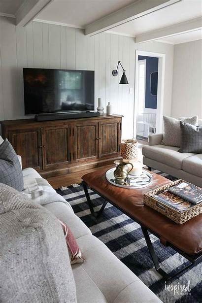 Decor Modern Living Fall Decorating Tv Livingroom