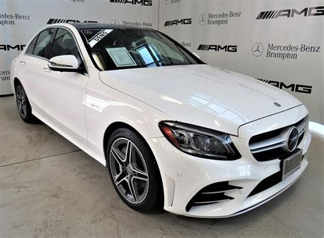 The amg c 43 is where things begin to get serious. New 2020 Mercedes-Benz C-Class C43 AMG 4MATIC 4-Door Sedan ...