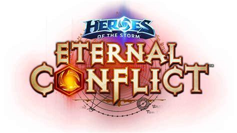 Pc Master Race Desktop Background Heroes Of The Storm Eternal Conflict Logo Uhd 8k Wallpaper Pixelz