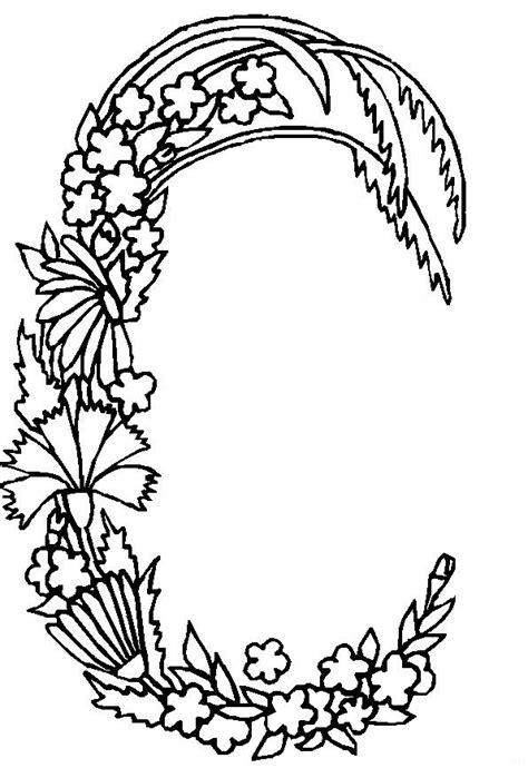 kids  funcom coloring page alphabet flowers alphabet flowers
