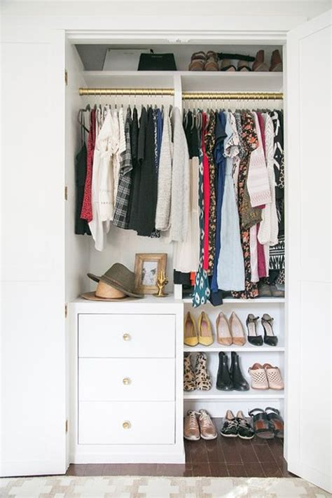 Wardrobe Closet For Small Spaces by 13 Best Small Closet Organization Ideas Storage Tip For