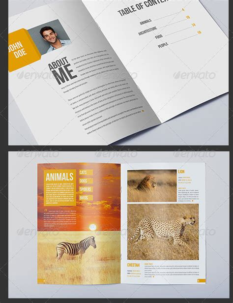 photo album templates psd indesign design
