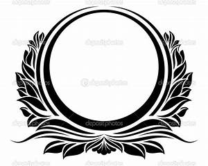 Elegant Frame Vector Circle