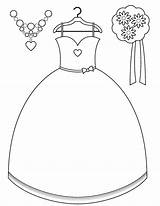 Bride Coloring Pages Getcolorings Printable sketch template