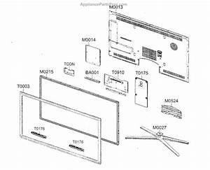 Parts For Samsung Un55c8000xfxza  Led Television Led Tv