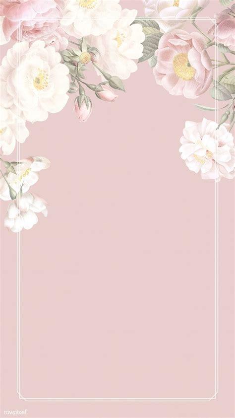 premium illustration  elegant floral frame