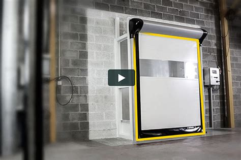 dynaco high performance doors for industry and logistics