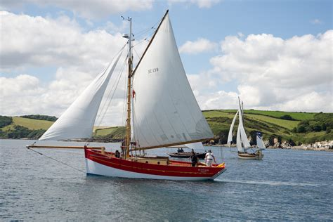 Sailing Boat Sails by Pettifox Sea Charters Classic Sailing Boat Trips From