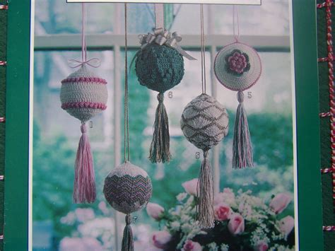 crocheted victorian christmas ornament patterns ball