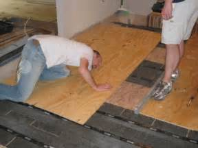 how to level a plywood or osb subfloor using asphalt shingles apps directories