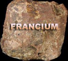 francium element properties alkali metals group periodic table   elements