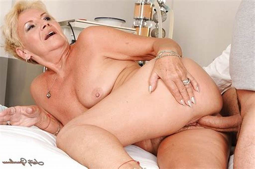 #Short #Haired #Granny #Gives #A #Blowjob #And #Gets #Her #Hairy