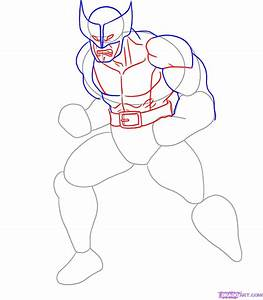 How To Draw Wolverine Step By Step Marvel Characters