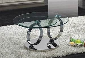 Contemporary round coffee table with two levels glass for 2 level glass coffee table