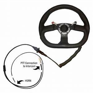 Pci Race Radios U00ae 2526 - Quick Disconnect Steering Wheel Two Nexus Ptt