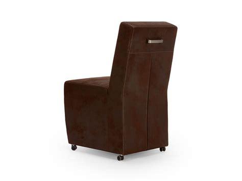 chaise cuir marron chaise simili cuir marron