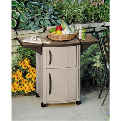 outdoor cabinets for patio suncast serving station patio cabinet 138457 patio