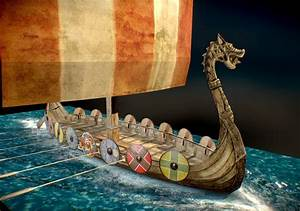 Viking Longship - Papercraft