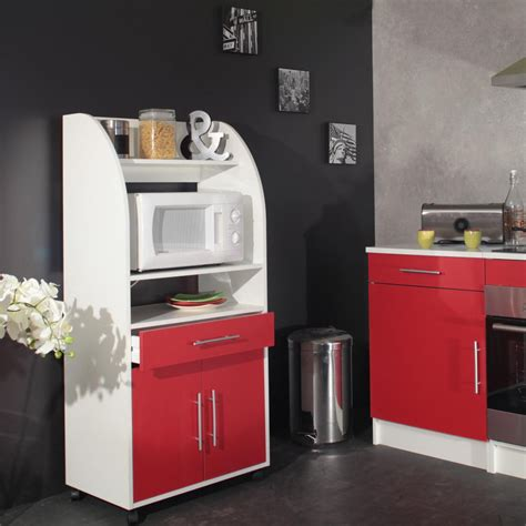 comparateur cuisine desserte de cuisine mobile contemporaine coloris blanc