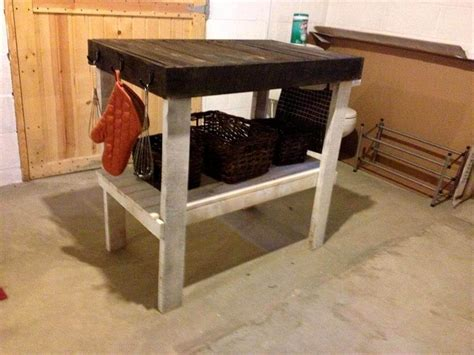 kitchen island made from pallets pallets made kitchen island 101 pallets 8198