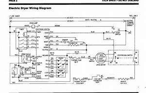 35 Wiring Diagram For Kenmore Dryer Model 110