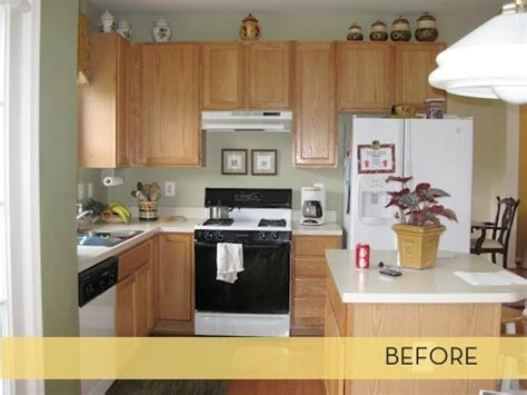 how to update kitchen cabinets with molding makeover class kitchen upgrade curbly 9595