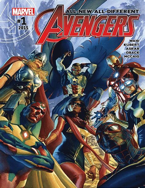 Marvel : All New, All Different Avengers (2015) - Issue ...