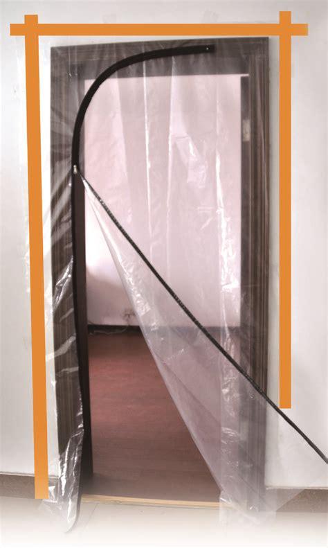 dta australia plastic door protector zip   masking