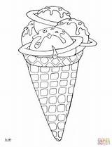 Coloring Ice Cream Pages Desserts Space Cone Drawing Needle Printable Colouring Lollipops Line Paper Getdrawings Mindfulness Comments Medium Categories sketch template