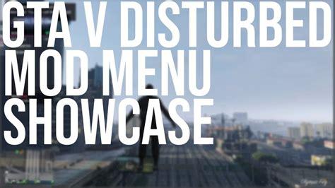 disturbed menu mod gta showcase pc