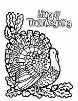 Coloring Thanksgiving Pages Adults Preschool Popular sketch template
