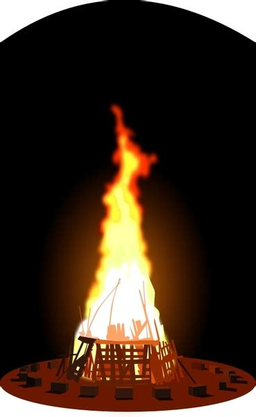 bonfire  vector    vector