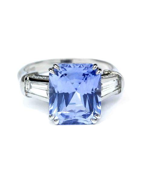 light blue ring beautiful light sapphire engagement rings