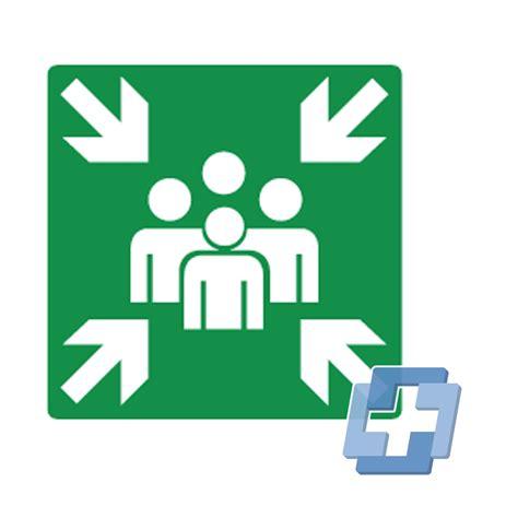 Nottreffpunkte - Piktogramme - Rettung und Evakuierung ...