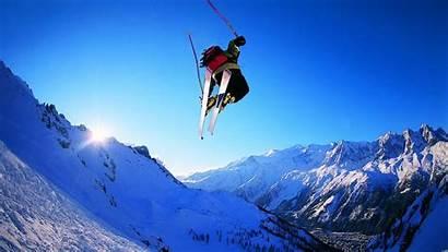 Skiing Ski Snowboarding Desktop Wallpapers Snow Jumping