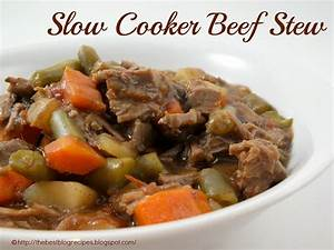 Slow Cooker Beef Stew I Recipe — Dishmaps