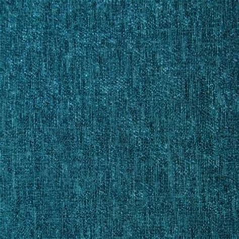 Design Upholstery Eaton by Eaton Teal Blue Chenille Solid Upholstery Fabric