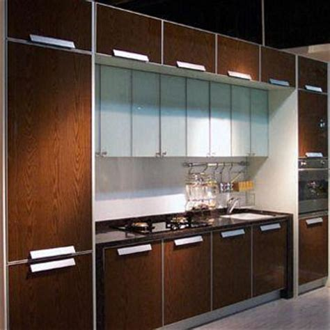 aluminium kitchen cabinet doors kitchen cabinet doors made of special laminated tempered