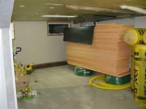 Isoler Plafond Sous Sol : isolation plafond sous sol styrodur ~ Nature-et-papiers.com Idées de Décoration