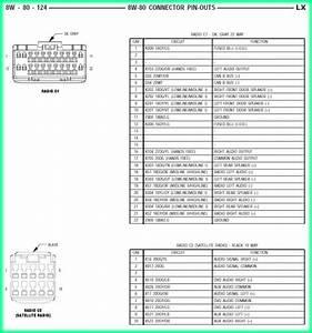 2002 Chrysler Sebring Radio Wiring Diagram