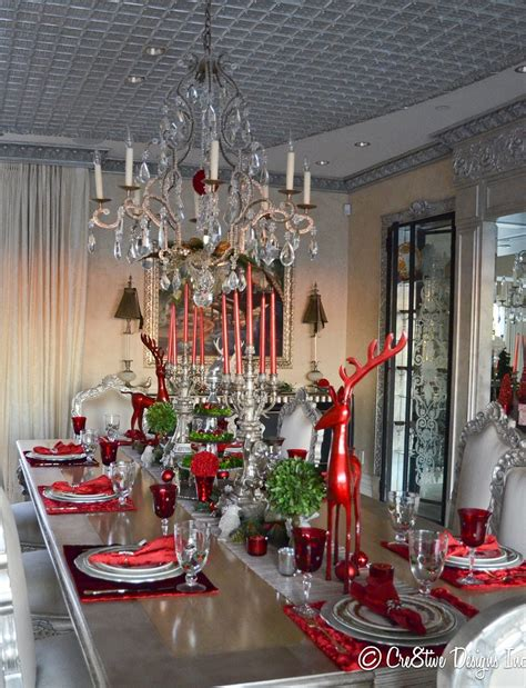 40 Christmas Table Decors Ideas To Inspire Your Pinterest