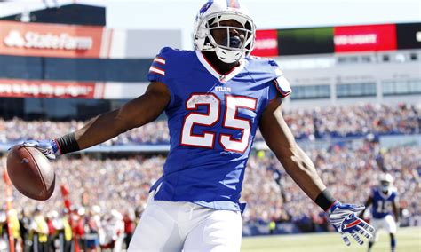 buffalo bills rb lesean mccoy   week  offensive