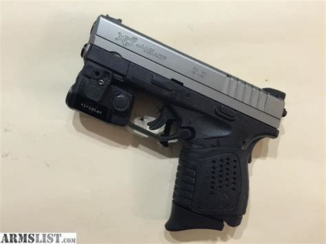 springfield xds light armslist for trade springfield xds 45 3 3 light