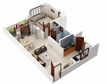 Floor Apartment Shriram Plan Plans Sameeksha 1bhk
