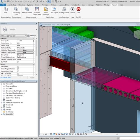 autodesk seek revit 2018 announcing autodesk structural precast extension for revit