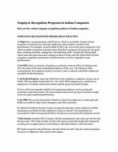 Employee recognition programs in indian companies for Sample letter of recognition for teamwork
