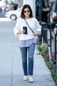 The Cutest Looks from Lucy Hale Street Style » Celebrity ...